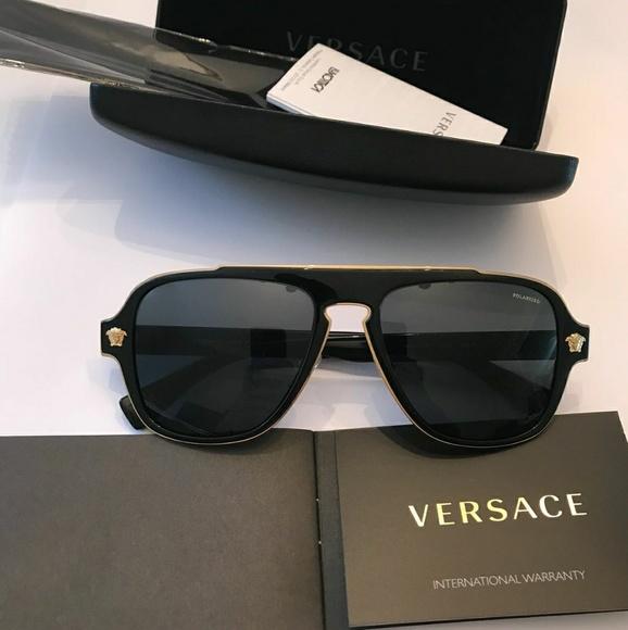 70bb18b470b3 Versace Polarized Sunglasses VE2199. M 5b31caecaaa5b8d6a658e1ad